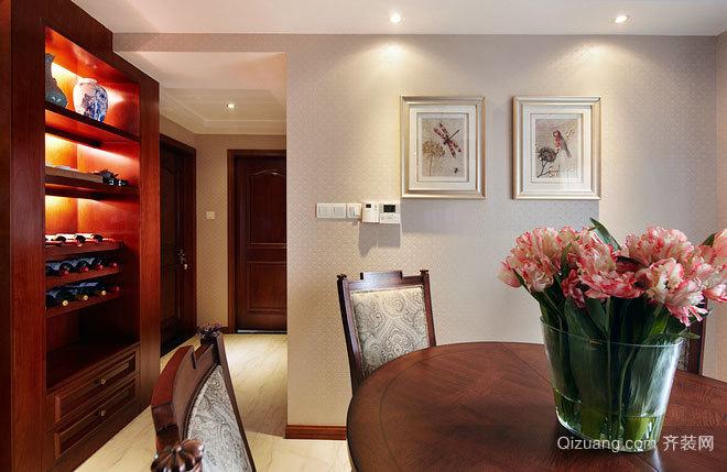 140平米新中式三室房屋装修效果图