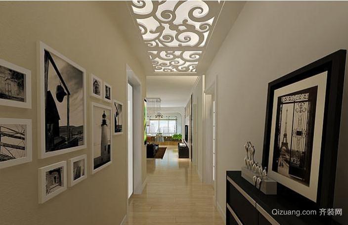 引人注目的走廊吊顶装修效果图