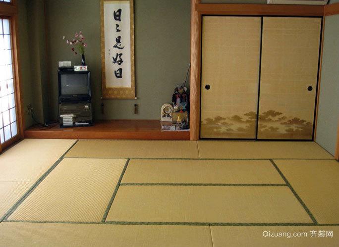 可卧可坐 舒适简约日式榻榻米装修效果图