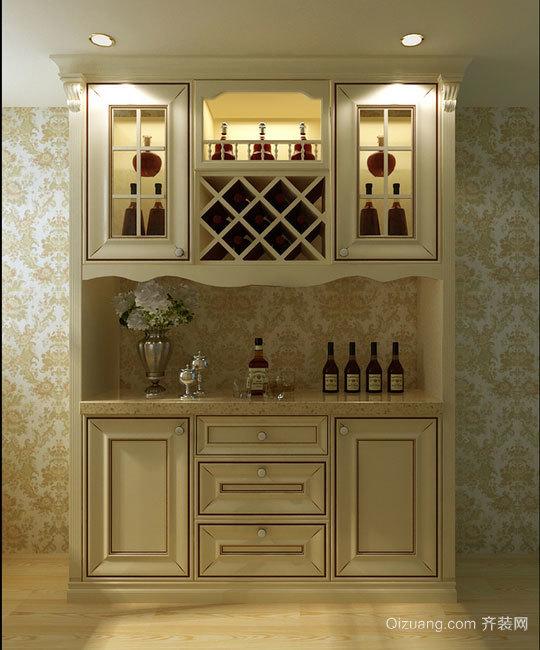 经典浪漫的欧式酒柜装修效果图鉴赏