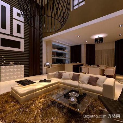 端庄典雅的别墅客厅装修效果图