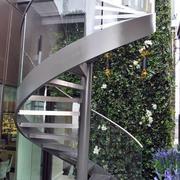 室外楼梯扶手效果图