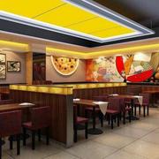 简约型中式快餐店