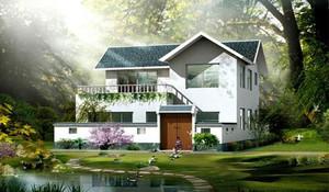 田园风格农村房屋
