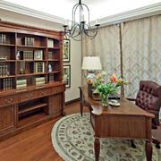实木书柜家具