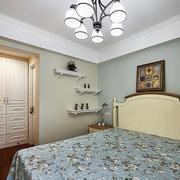 家装室内卧室床头背景墙装饰