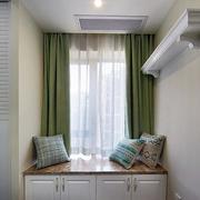 室内家装简约韩式飘窗装饰