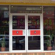 中式快餐店外观效果图