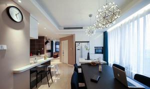 两室一厅后现代风格餐厅装饰