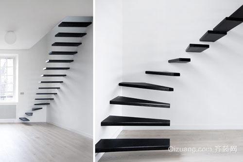 时下非常流行的楼梯装修效果图
