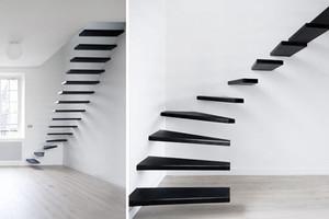 后现代风格跃层楼梯装饰