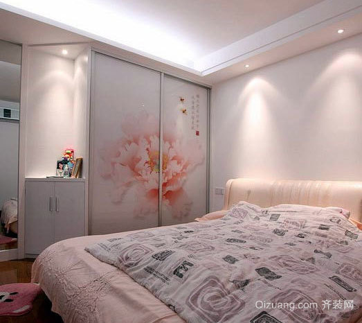 卧室的一角:衣柜设计效果图片