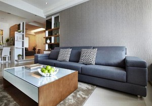 具有完美机能的三室一厅家庭装修效果图