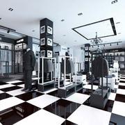 高档服装店设计