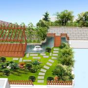 绿意浓浓屋顶花园