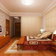 温馨色调卧室装修效果图