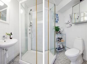 70平米小户型乡村风味一居室公寓装修效果图