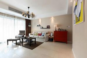 20万打造的小清新简约风美式格调三居公寓装修
