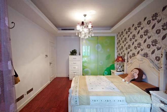 100平米古典混搭范的实景婚房装修效果图