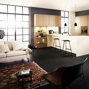 小型复式楼简约风格吧台装饰