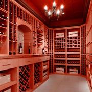 美式酒窖简约吊顶装饰