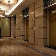 简欧风格电梯瓷砖装饰