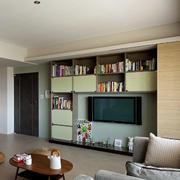 复式楼简约风格电视柜设计