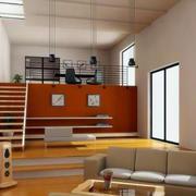 跃层简约风格小户型客厅装饰