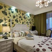 别墅简约风格卧室飘窗设计