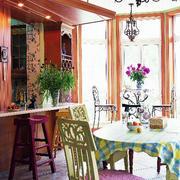 美式乡村风格餐厅样板房