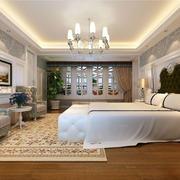 欧式别墅卧室灯饰装饰