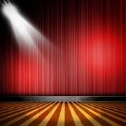 舞台简约风格射灯装饰