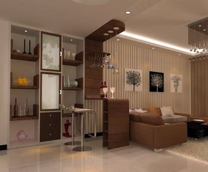 简约时尚的家庭吧台装修效果图展示