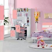 现代简约风格儿童房房间设计