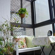 现代简约风格阳台沙发装饰