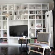 两室一厅简约风格整体置物架装饰
