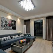 两室两厅客厅飘窗装饰