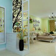 现代简约风格两室一厅鞋柜装饰