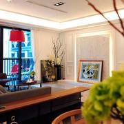 两室一厅简约风格阳台装饰