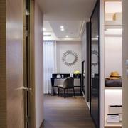 三室一厅简约风格走廊吊顶装饰