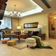东南亚风格房屋客厅设计