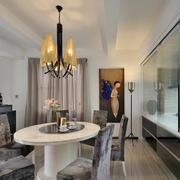 120平米商品房简约风格餐厅装饰