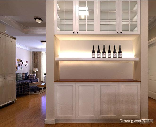 点滴葡萄香:大户型家装欧式葡萄酒柜装修效果图鉴赏大全