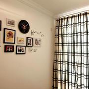 美式简约风格房间照片背景墙