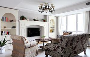 简约异域风格:美式浪漫优雅的新婚房装修效果图
