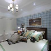 两室一厅欧式简约风格卧室灯饰