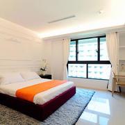 两室一厅简约风格卧室窗户装饰