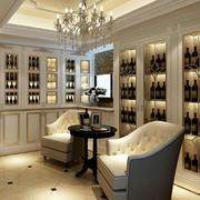 欧式酒窖田园风格酒柜装饰