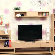 日式简约风格低矮电视柜
