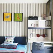 后现代风格儿童房床头柜装饰